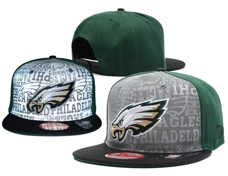 Philadelphia Eagles 2014 Draft Reflective Snapback Hat SD 0613